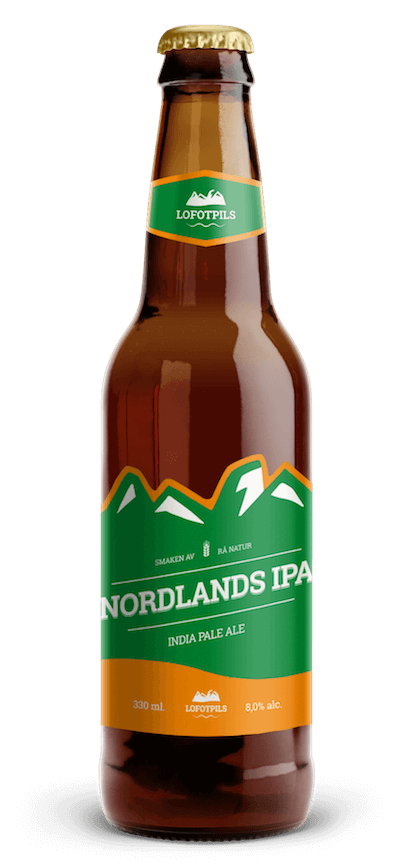 Lofotpils Nordlands IPA, India Pale Ale (8,0%)
